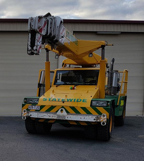 20 tonne franna hire