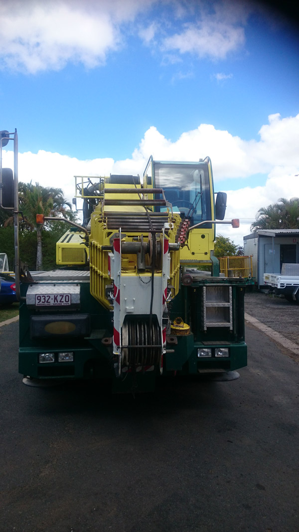 55 tonne all terrain crane hire