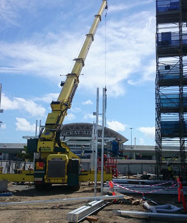 55t crane hire mackay airport