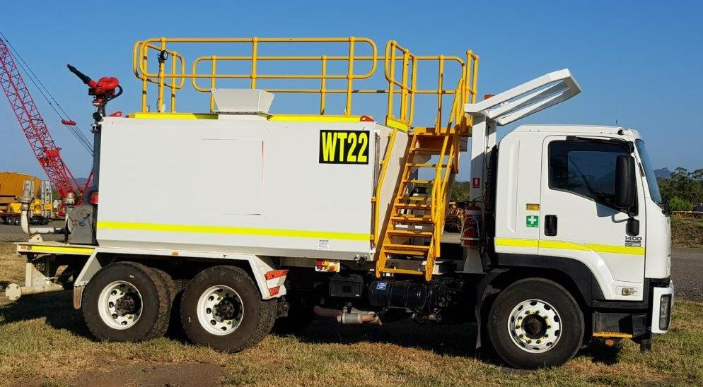 Sunshine Coast Water Carts 2012 Isuzu FVZ 14,000-litre water cart