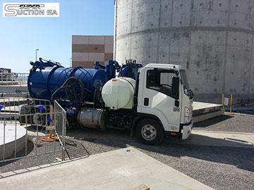 Super Suction SA vacuum excavation trucks for hire Adelaide