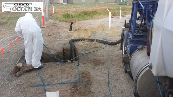 Super Suction SA hydro excavation service and vacuum excavation truck Adelaide
