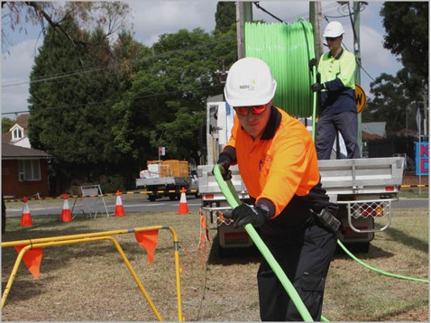 Super Suction Fulton Hogan - NBN Roll out Project