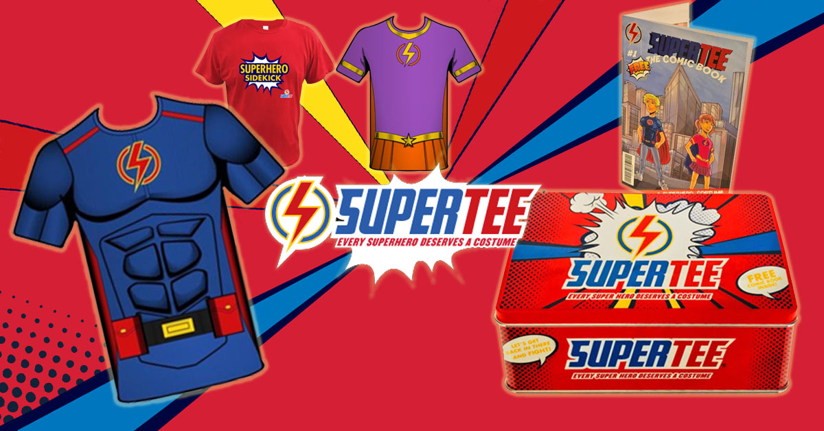 Online Hire excited to donate 10 Supertee children medical garments to help our little heros