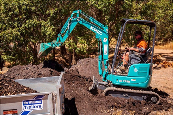Sweeney Hire Excavator Hire Excavation Services Peel