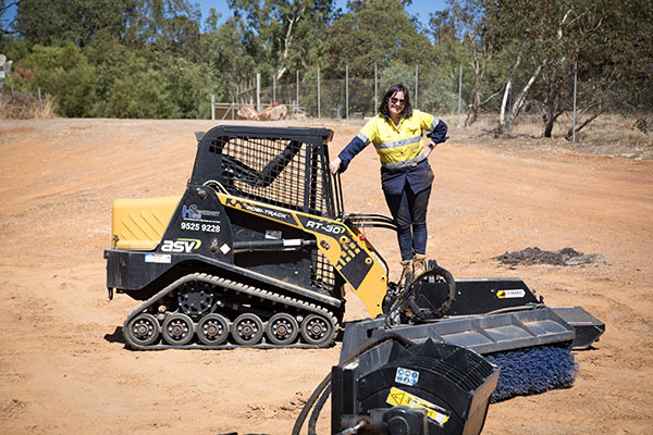 Sweeney Hire Skid Steer and Posi Track Hire