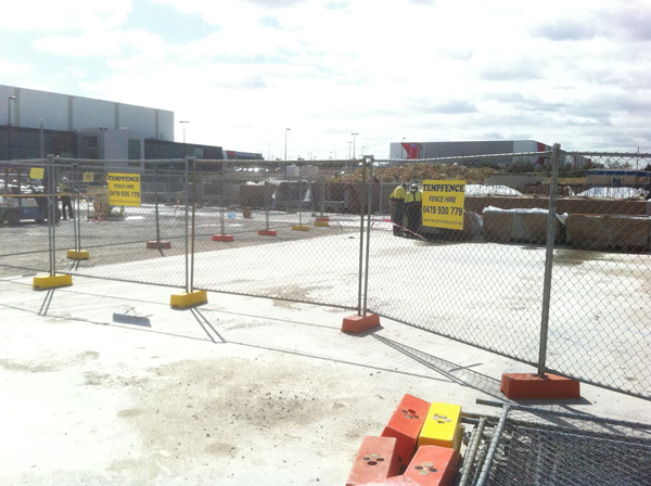 Commercial Fence Hire | Perth