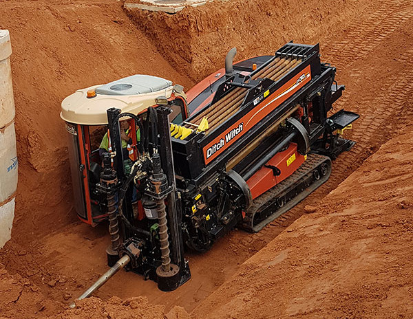 Tracked Ditch Witch