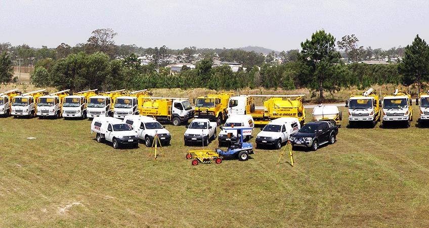 Vac-U-Digga's fleet