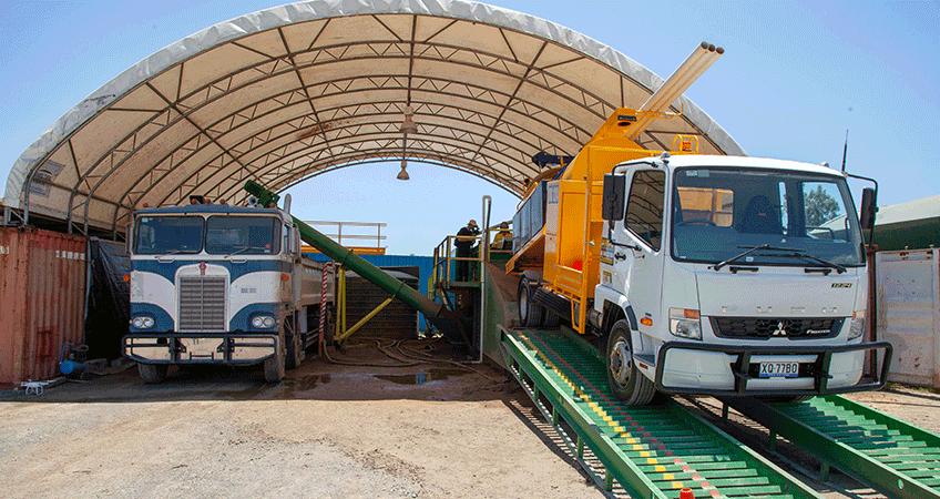 Vac-U-Digga's Soil Transfer System