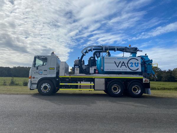 Vac2U VTI 7000L 6' Boom Hydro/Vacuum Excavation Unit