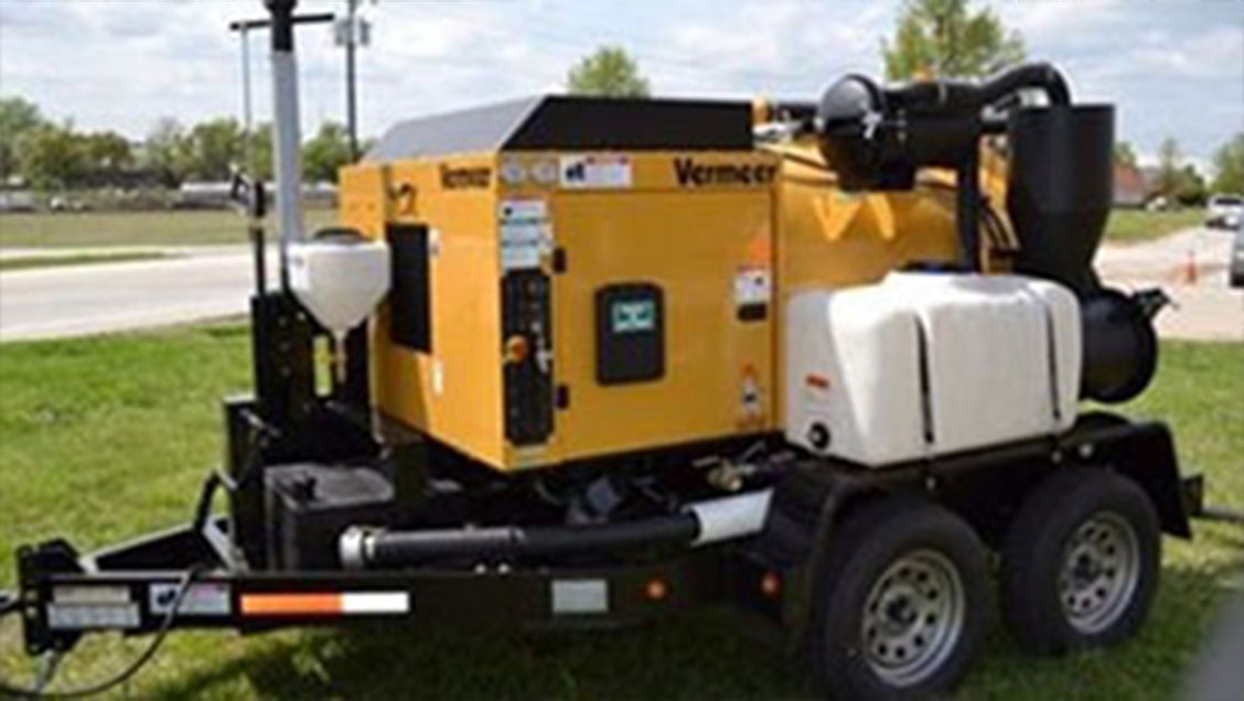 Vac2U Vermeer VSK800HD (3000 L) Unit