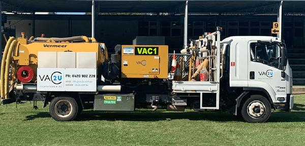 Vac2U Vermeer VX250 (1000 L) Trailer Unit