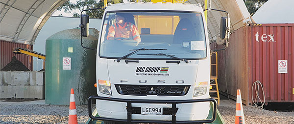 Vac U Digga NZ 3000L hydro vacuum truck