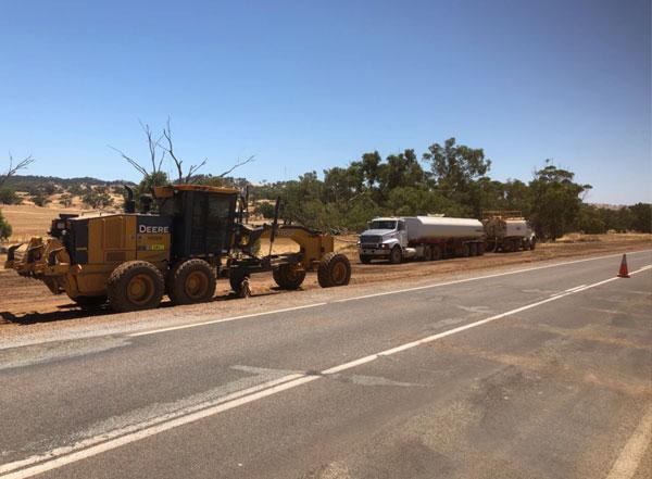 vernice-main-road-construction