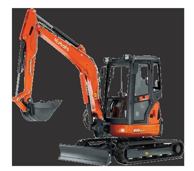 3.5 tonne excavator Bundaberg