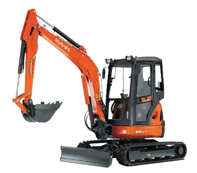 3.5 tonne Excavator Hire Hervey Bay
