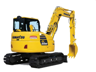 8 tonne Excavator Hire Hervey Bay
