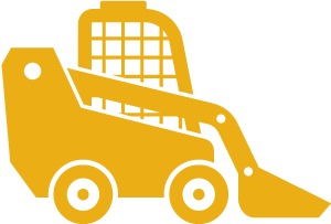 Skid Steer Loader Hire Icon