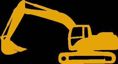 35 tonne excavator hire icon