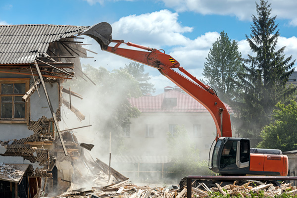 Wombat Hire House Demolition Icon