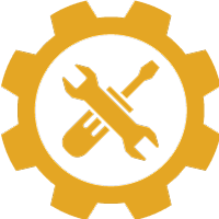 Maintenance and service icon